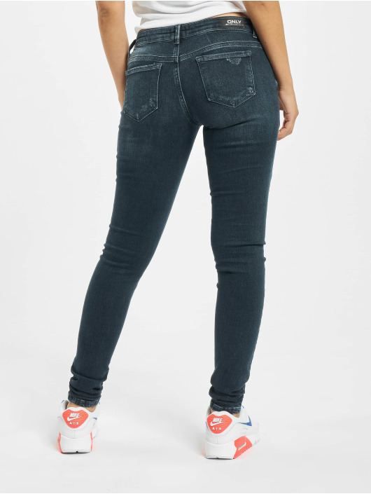 Only Skinny Jeans onlCoral Life SL BB RES282A blue