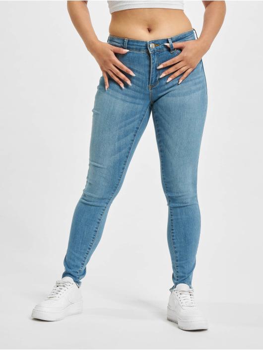 Only Skinny Jeans onlEmmi Life Regular Skinny Ankle Rawdst BB SOO819 blue