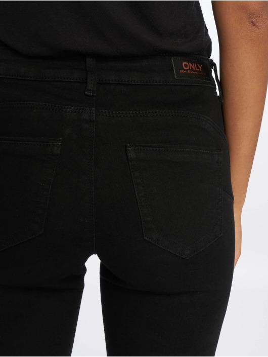 Only Skinny Jeans onlDaisy Pushup Ankle czarny