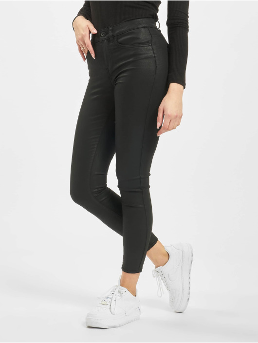 Only Skinny Jeans onlHush NOS Mid czarny