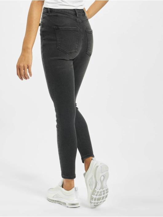 Only Skinny Jeans onlMila High Waist czarny