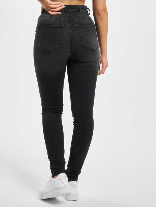 Only Skinny Jeans onlGosh Life High Waist Ankle Noos czarny