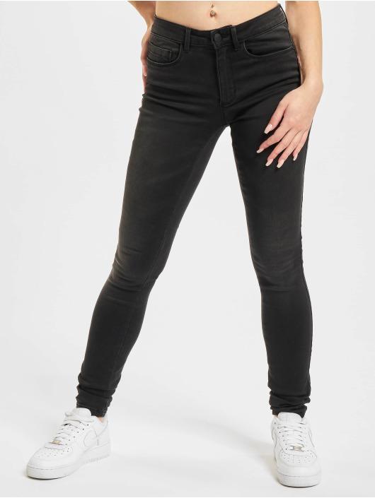 Only Skinny Jeans Onlroyal Life czarny