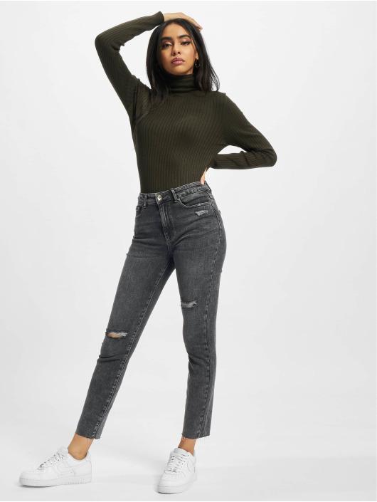 Only Skinny Jeans Onlblake czarny