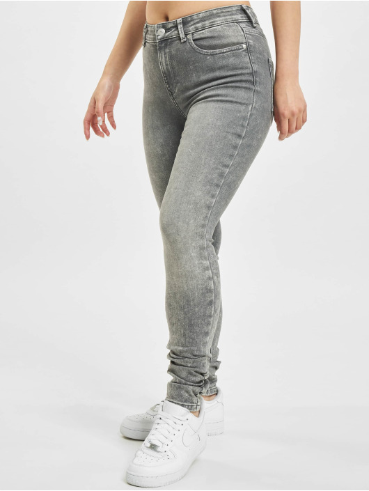 Only Skinny Jeans onlBlush Mid Waist ANA0918 grau