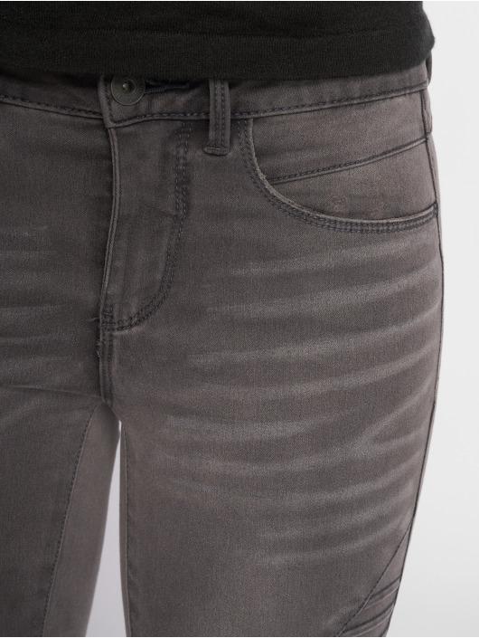 Only Skinny Jeans onlRoyal Regular Biker gray
