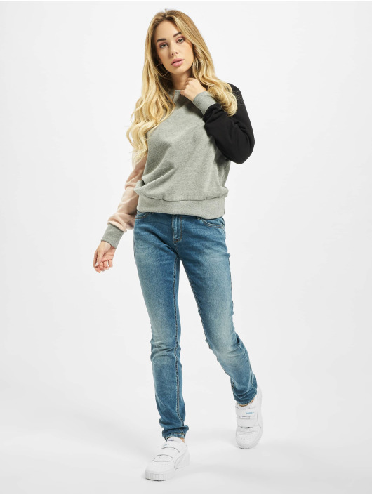 Only Skinny Jeans onlCoral NOS Superlow BB CRYA041 modrý