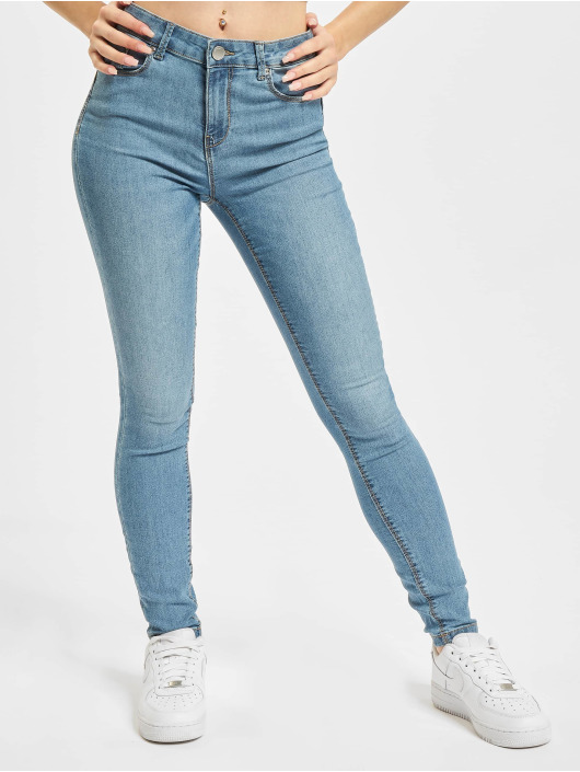 Only Skinny Jeans Onliris Midankle Pushup modrý