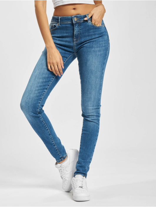 Only Skinny Jeans Onlpush Shape modrý
