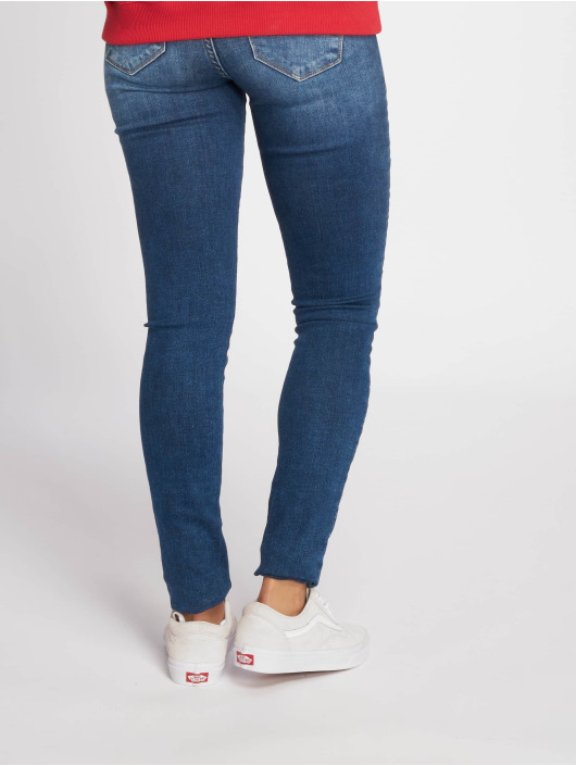 Only Skinny Jeans onlShape Regular niebieski