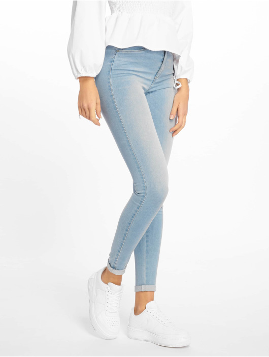 Only Skinny Jeans onlRoyal Noos High Waist niebieski