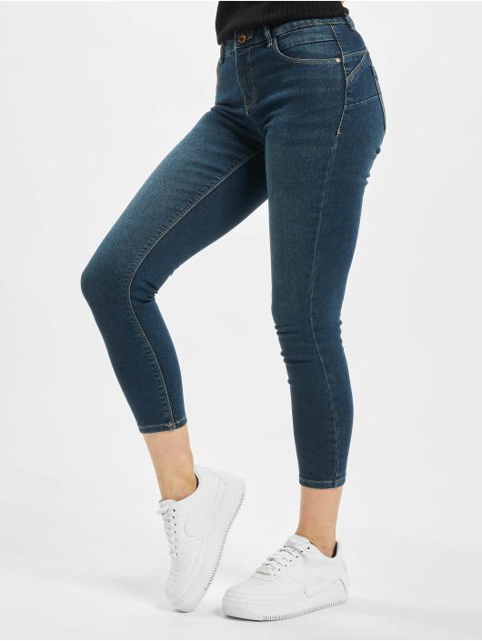 Only Skinny Jeans onlDaisy Regular Waist Pushup Ankle niebieski