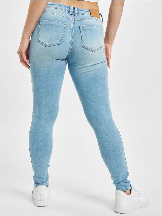 Only Skinny Jeans onlShape Reg Ankle BB REA10186 niebieski