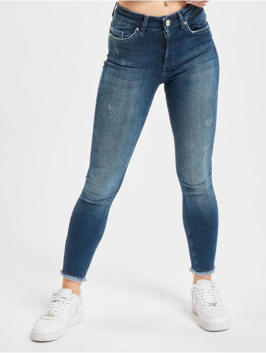 Only Skinny Jeans onlBlush Life RAW REA811 niebieski