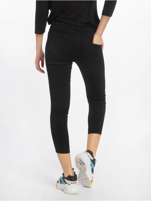 Only Skinny Jeans onlPeggy Regular Push Up Ankle schwarz