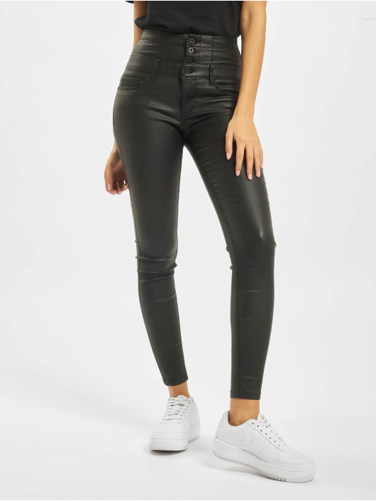 Only Skinny Jeans onlCoral Corsage Rock Coated schwarz