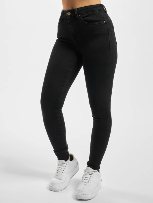 Only Skinny Jeans onlPower Life schwarz