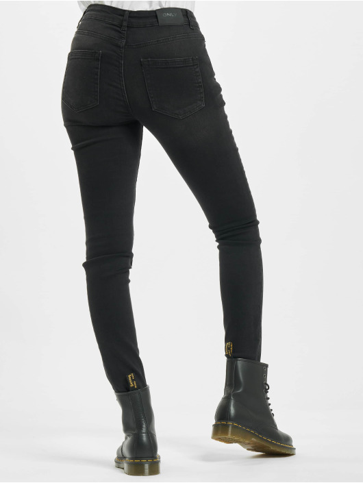 Only Skinny Jeans onlBlush Life Mid schwarz