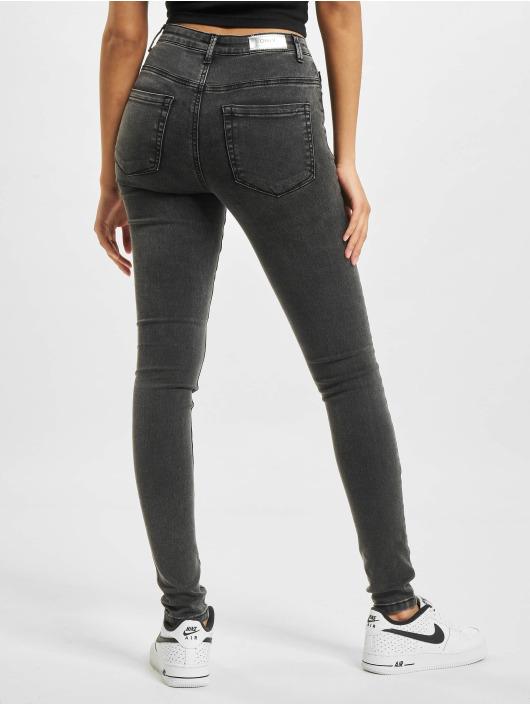 Only Skinny Jeans onlRoyal High Waist Fly BTN Acid BB PIM119 schwarz
