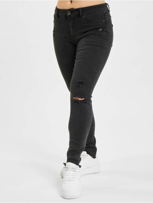Only Skinny Jeans onlEmmi Life Reg Ankle Skinny schwarz