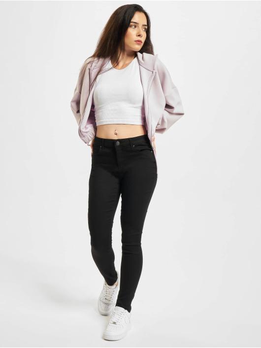 Only Skinny Jeans Midankle Pushup schwarz