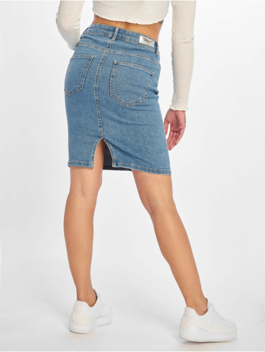 Only Skirt onlKiss High Denim Skirt blue