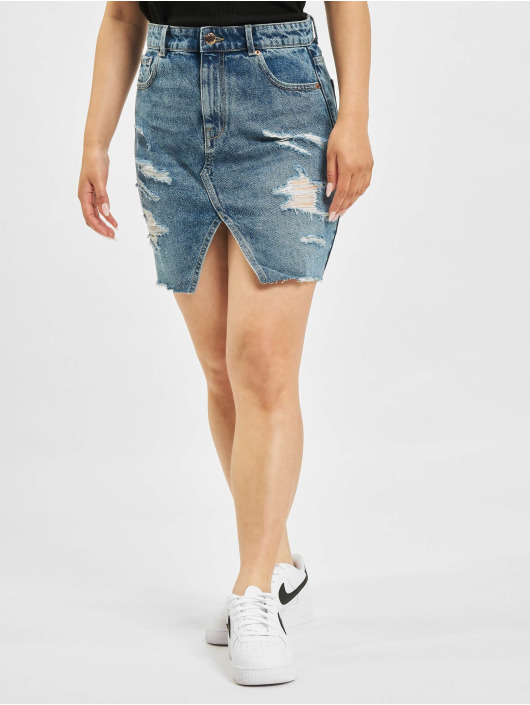Only Skirt Isabel Life Pencil Denim Jeans blue