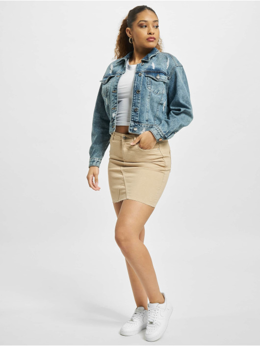 Only Skirt onlFan Life Col Reg brown
