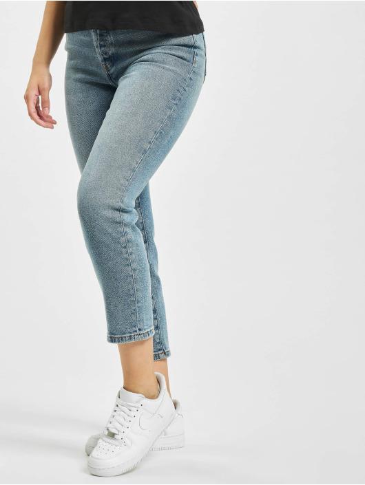 Only Slim Fit Jeans onlJosie Life High Rise modrá