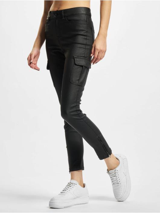 Only Spodnie Chino/Cargo Anne NYA czarny