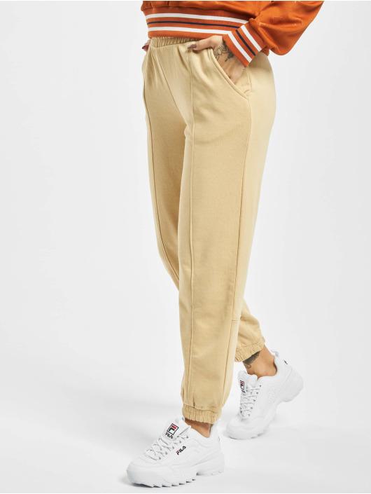 Only Spodnie do joggingu onlDea Detail bezowy