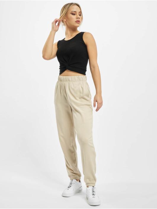 Only Spodnie do joggingu onlChrissy bezowy