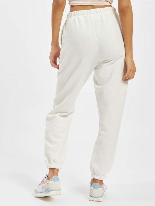 Only Spodnie do joggingu Onlfeel Life 7/8 bialy