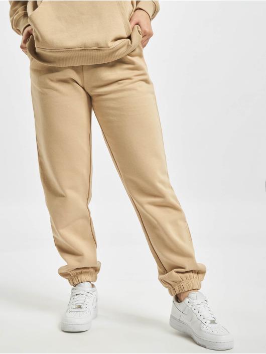Only Spodnie do joggingu onlFeel Life brazowy
