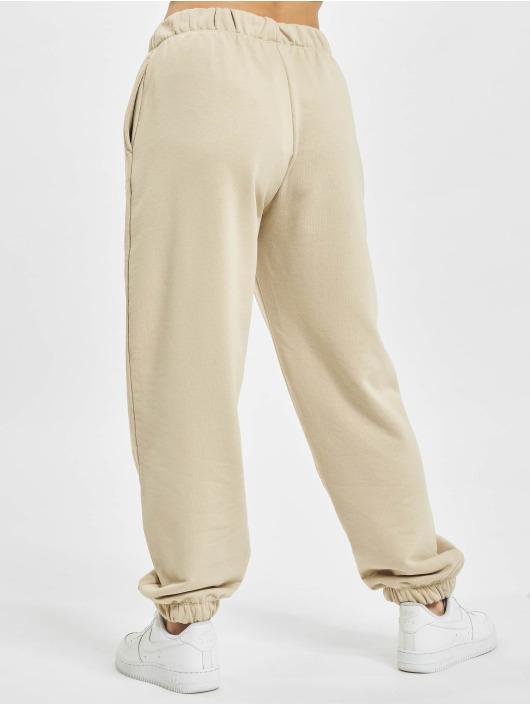 Only Spodnie do joggingu Onldaimi Life brazowy