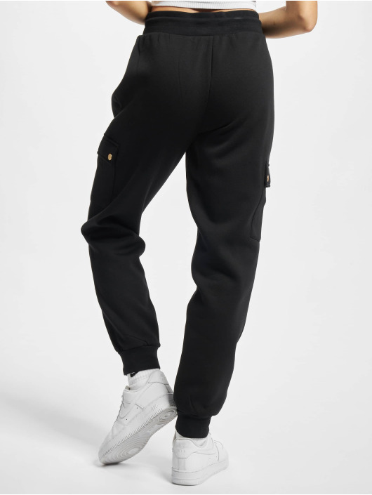 Only Spodnie do joggingu Onlgwen czarny