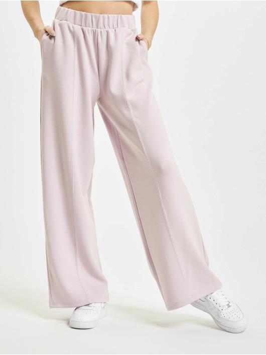 Only Spodnie do joggingu onlScarlett Wide fioletowy