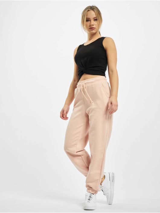 Only Spodnie do joggingu onlStella Long rózowy