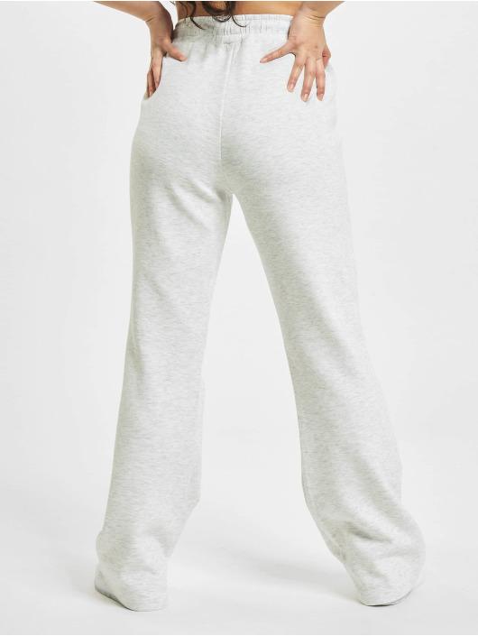 Only Spodnie do joggingu onlJoy Sweet Flared szary