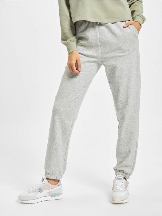 Only Spodnie do joggingu Onlbless Paperbag szary