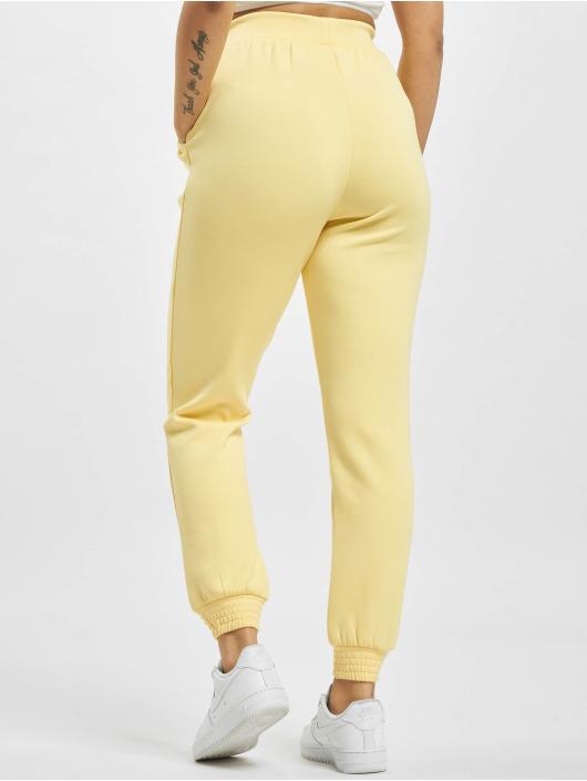 Only Spodnie do joggingu onlJoy zólty