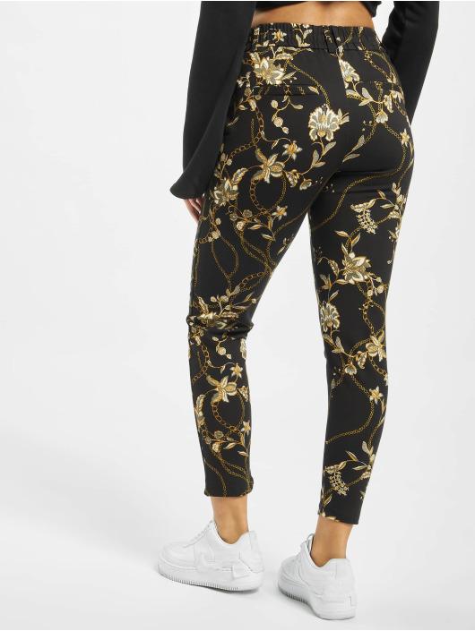 Only Spodnie wizytowe onlPoptrash Easy Chain Print czarny