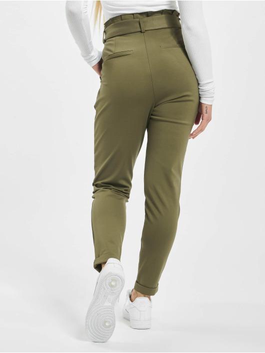 Only Spodnie wizytowe onlPoptrash Easy Paperback oliwkowy