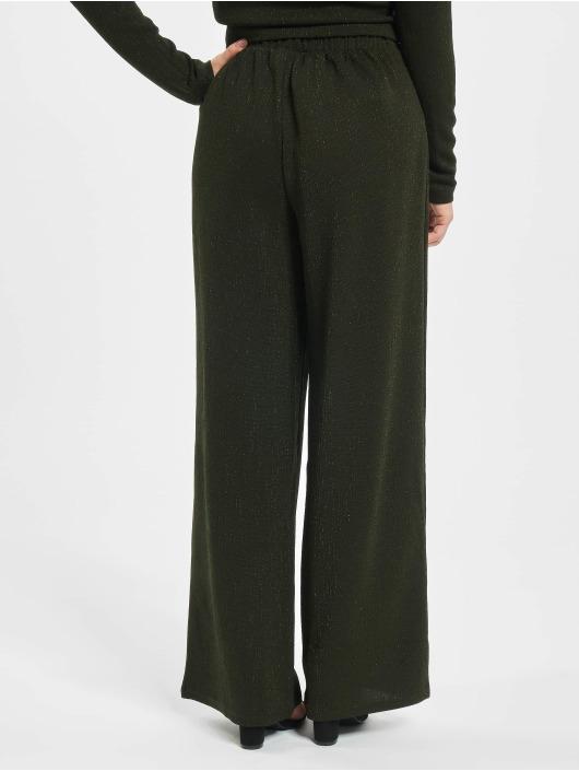 Only Spodnie wizytowe onlNew Queen Glitter oliwkowy