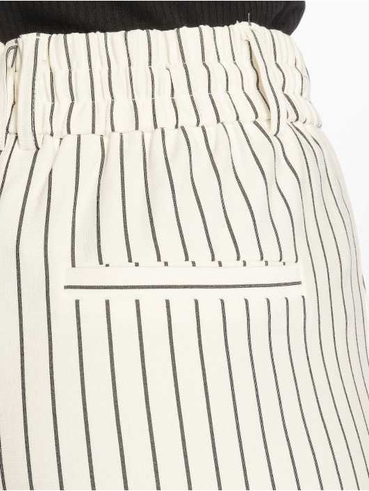 Only Stoffbukser onlPoptrash Easy Rush Stripe hvit