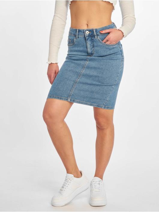 Only Sukňe onlKiss High Denim Skirt modrá