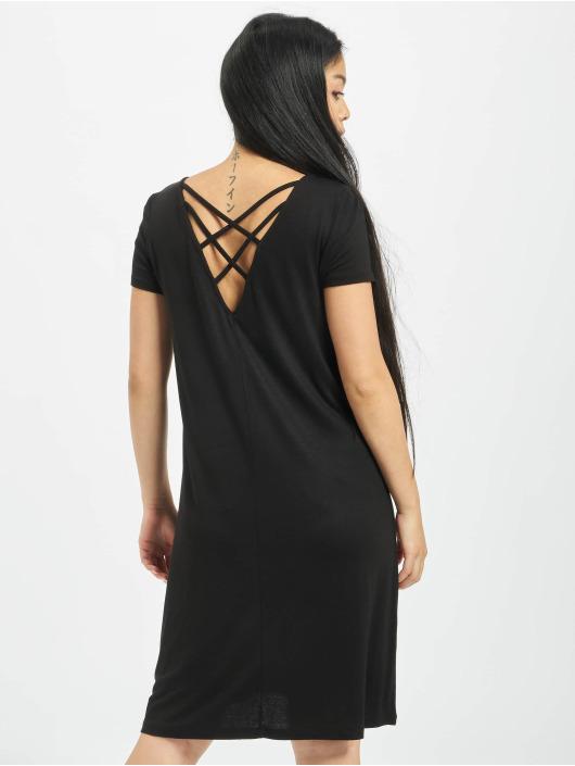 Only Sukienki onlBera Back Lace Up czarny