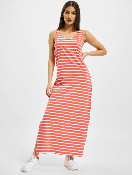 Only Sukienki onlMay Life S/L V-Neck czerwony