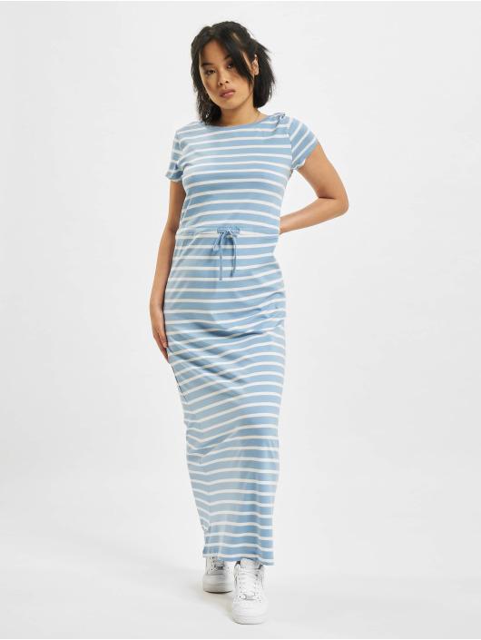 Only Sukienki Onlmay Life Shortsleeve String niebieski