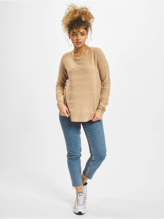 Only Sweat & Pull onlCaviar Knit beige